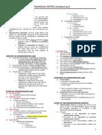 Admin Law Midterm Outline WMSU