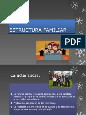 Estructura Familiar Familia Ciencias Del Comportamiento