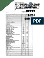 Daftar Hadir