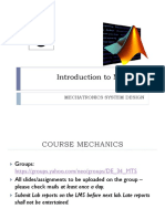 MATLAB Lecture 1