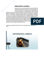 Informática jurídica