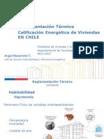 Reglamentación Térmica en La Edificación - PDA Coyhaique - Condensación, Infiltraciones y Ventanas - 2017