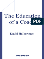 The Education of a Coach by David Halberstam