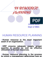 Human Resource Planning 2017