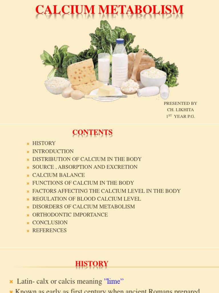 5 Calcium Metabolism Bone