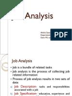 Job Analysis 2017
