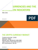Cryptocurrencies and the Chameleon Indicators