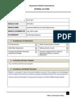 6. Internal QA Module Assessor Form -.docx