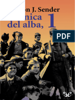 Cronica Del Alba, 1 - Ramon J. Sender - 9815 - Spa