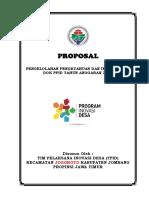 Lampiran 2 Cover Proposal TPID
