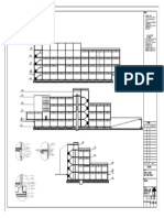 Sections for architectural working drawings