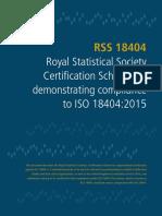 RSS 18404 Sector Scheme