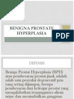 Benigna Prostate Hyperplasia