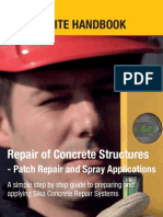 Site Handbook - Repair to Concrete