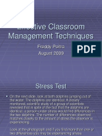 Effective Classroom Management Techniques
