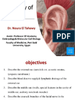 Anatomy of the Ear (Ecture 2) by Dr, Noura 2018