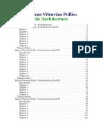 Vitruvius - De Architectura (Inglese)