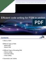 FSM Encoding