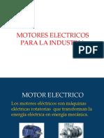 Motores de uso industrial