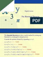 13. Binomial Theorem