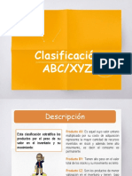Clasificación ABC-XYZ