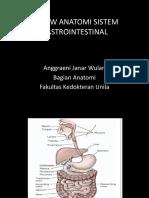 (Anatomi) Dr. Ajw_review Anatomi Sistem Gastrointestinal