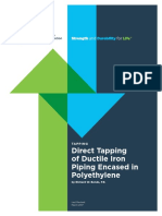 Tapping-DirectTappingDuctileIronPipeinPolyethylene.pdf