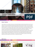 Mindtree Q3FY2019 Investor Presentation_0