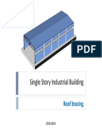 single story industrial building