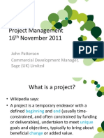 20111116 Commercial Project Management