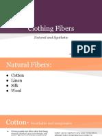 clothing fiber