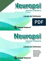 Libreta de Estimulos Neurofunciones