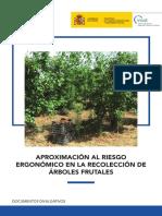 APROXIMACIÓN AL RIESGO ERGONÓMICO EN LA RECOLECCIÓN DE ÁRBOLES FRUTALES