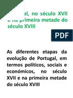 ESQUEMAS-As Diferentes Etapas Da Evolução de Portugal,