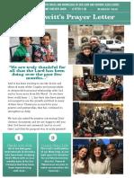 PDF T&T - Chris & Nicola's Prayer Letter - March, 2019.