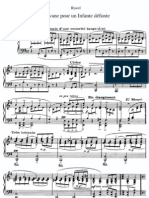Ravel Pavane Pour Une Infante Defunte Piano