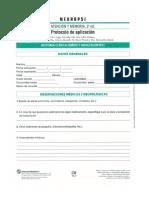 Protocolo Neuropsi 2