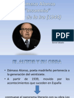 Damaso Alonso Insomnio