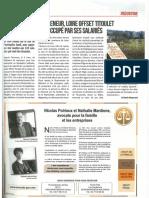 Essor - Sans repreneur, Loire Offset Titoulet est occupé par ses salariés