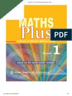Maths Plus - A Book of Mental Mathematics for Class-1