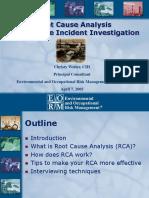 RCA Presentation 031105