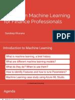 1. Fintech ML Using Azure