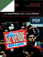 La enseñanza de la economía - Economistas sin Fronteras - Dossier No. 15.pdf