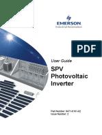 SPV Photovoltaic Inverter Iss2.