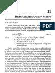 Hydro Electric Power Plants