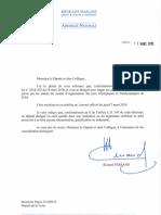 Nomination de Régis Juanico au comité des rémunérations du COJOP