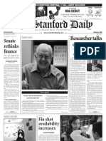 The Stanford Daily, Oct. 27, 2010