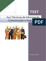 TSST A4 Manual Informacao