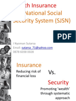 Day 14 Health Insurance and SJSN