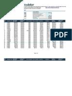 Excel Mortgage Calculator